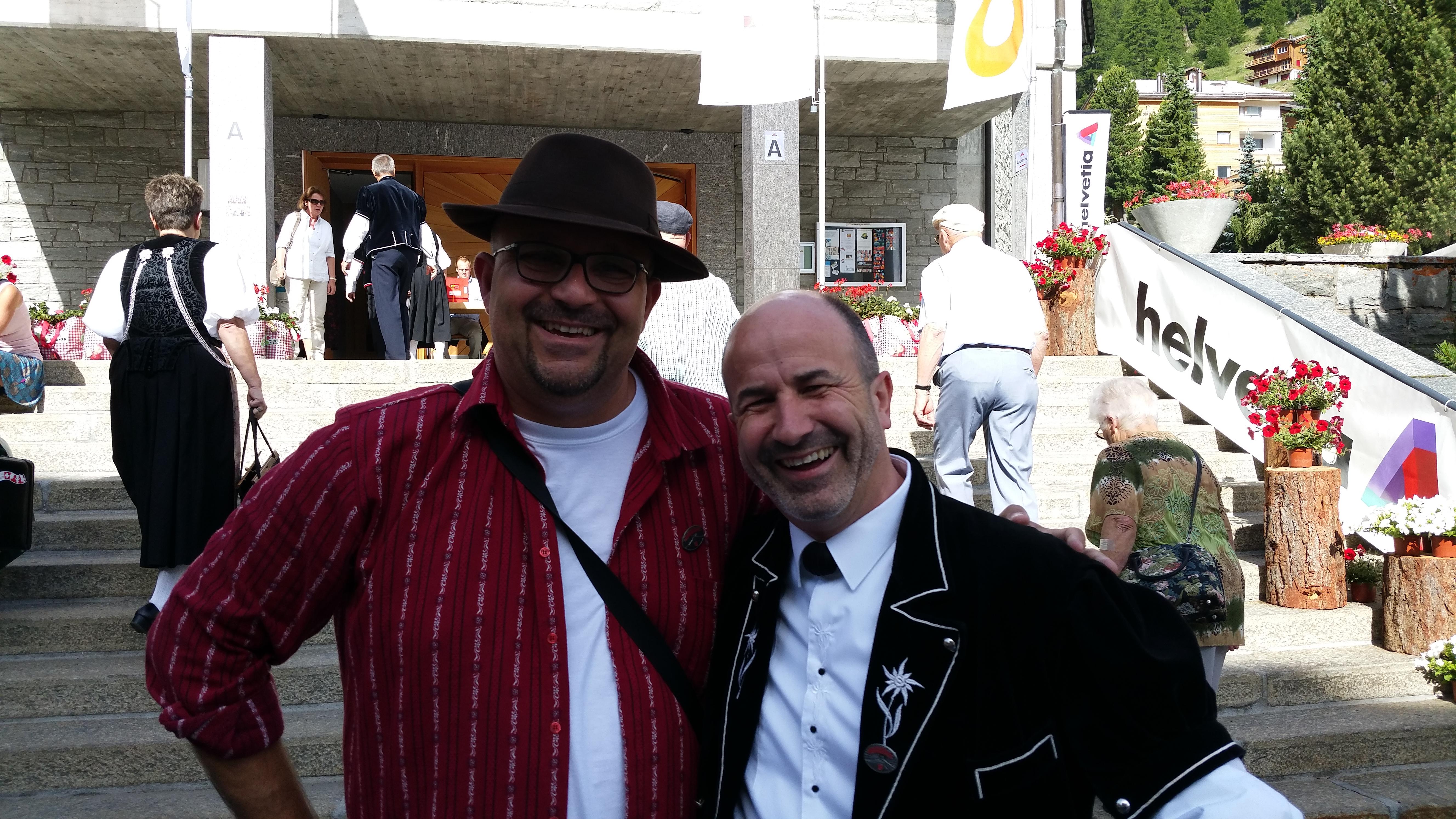 Alain et Peter Anken