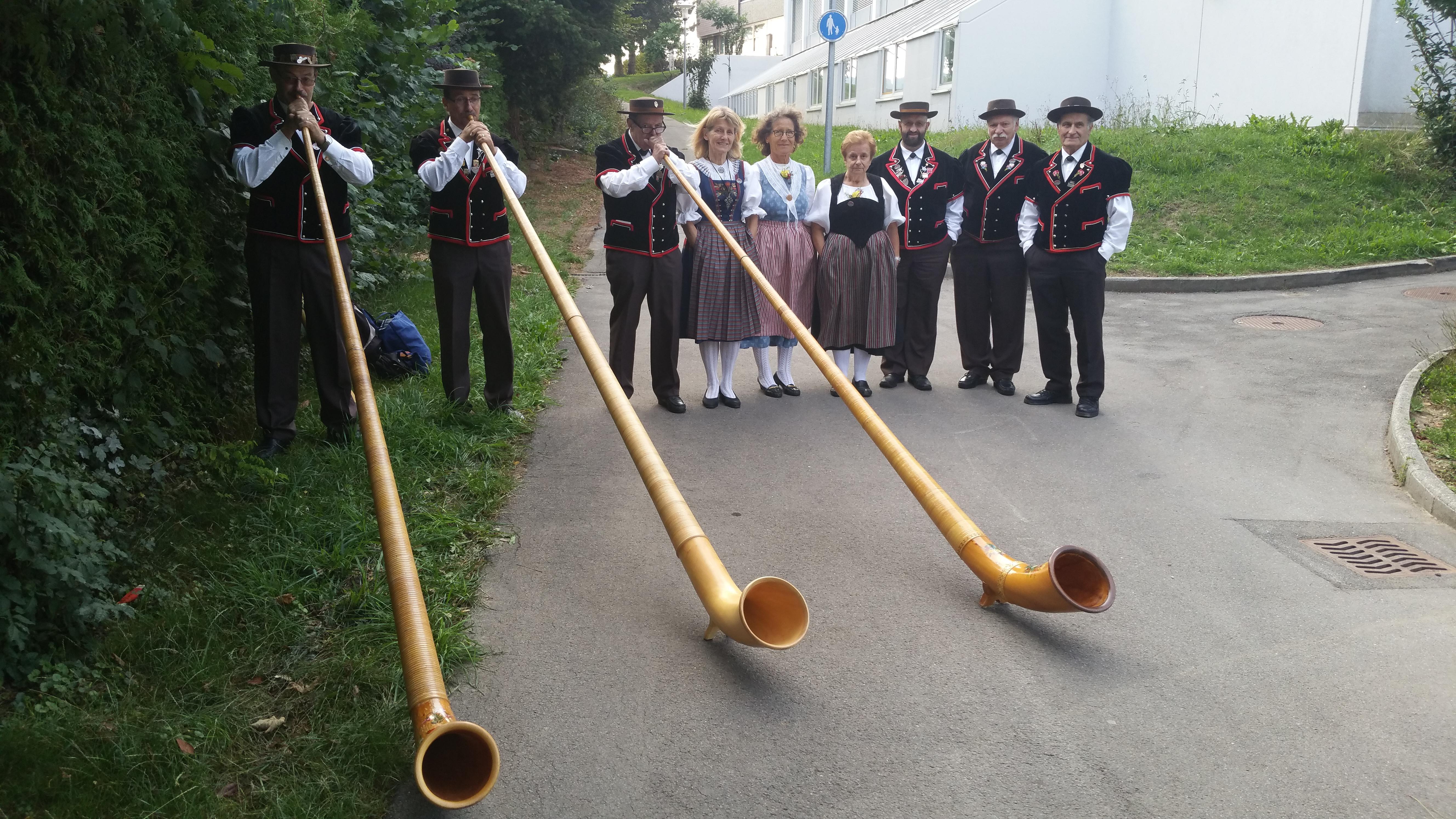 Les cors et les yodleurs