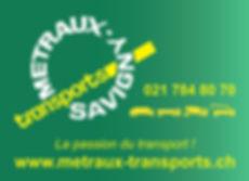 Metraux Transports Savigny