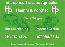 Entreprie Travaux Agricoles Haenni & Porchet Forel