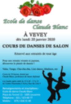 Ecole de danse Claude Blanc Lausanne