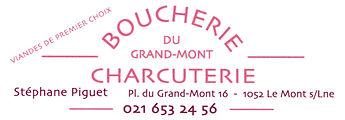 Annonce boucherie Grand Mont quart long.