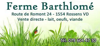 Ferme Barthlomé, Rossens