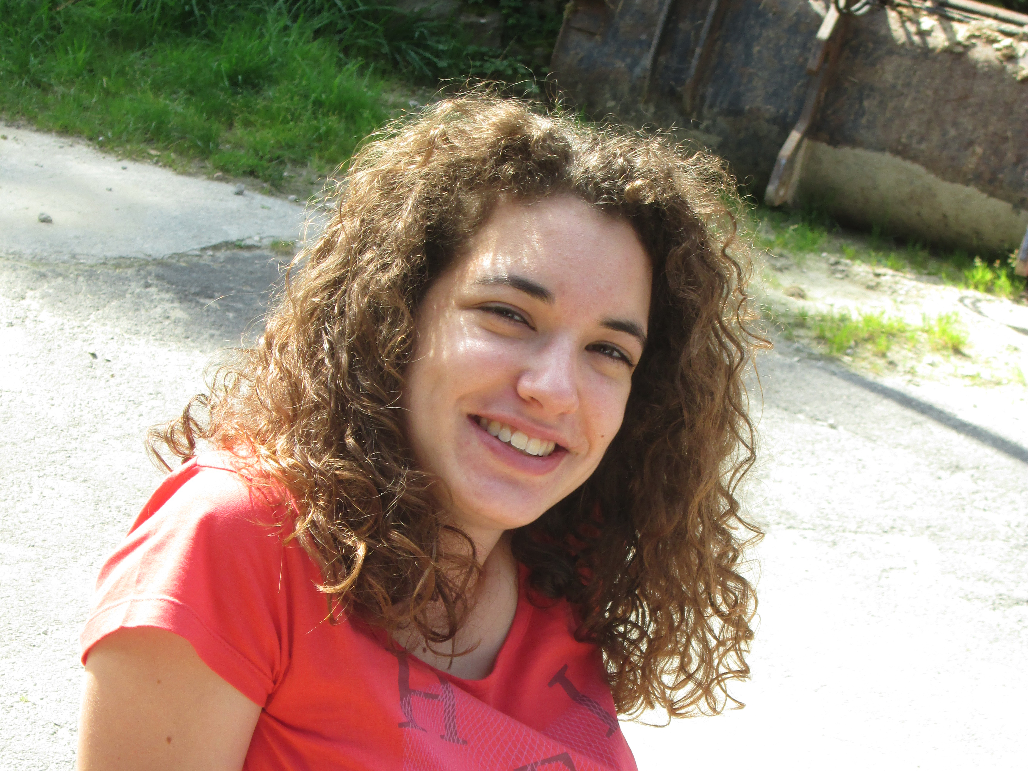 Le joyeux sourire de Nathalie