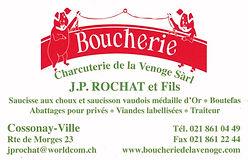 Boucherie de la Venoge J.-P. Rochat Cossonay