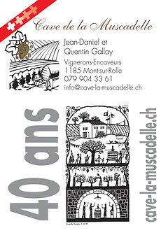 Cave de la Muscadelle, Quentin Gallay, Mont-sur-Rolle