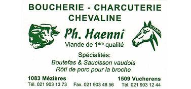 Boucherie Philippe Haenni Mézières