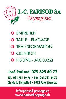 J.-C. Parisod Paysagiste Forel