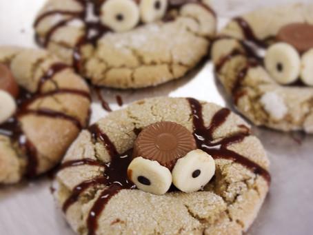 🕷️🍪🕸️ Spider Halloween Cookie