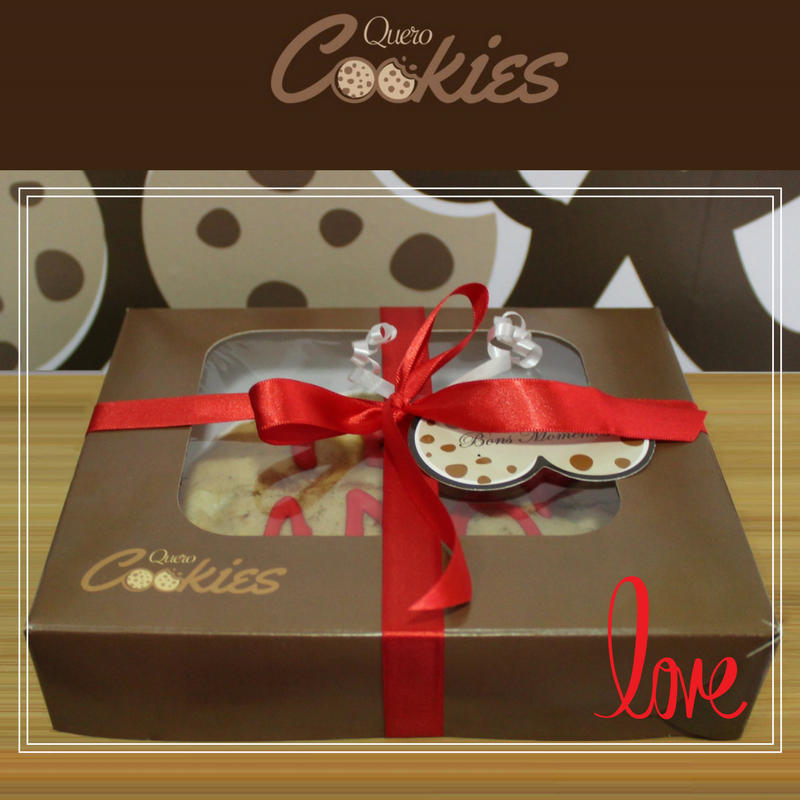 Cookie Box Presente - 5 Cookies