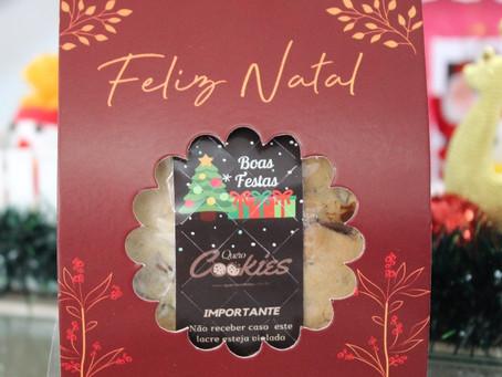 Natal com Cookies= #BonsMomentos🎄🎁❤️