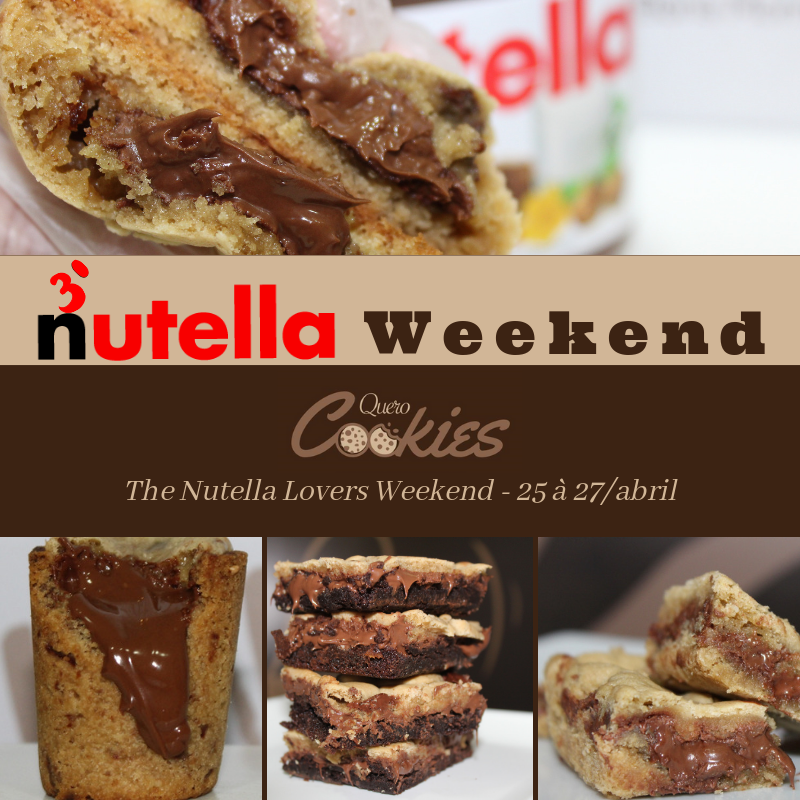 3° Nutella Weekend Quero Cookies   2019