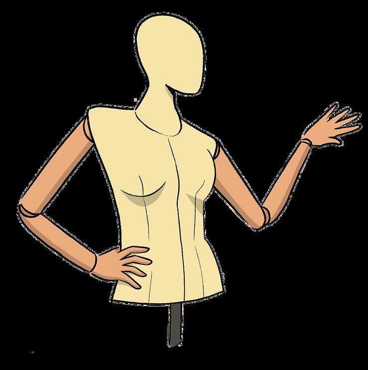 Shop Button Mannequin