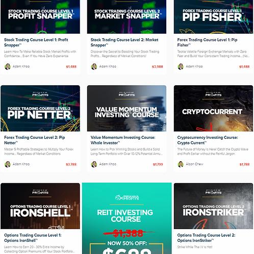 Full 9 Course Bundle +future updates