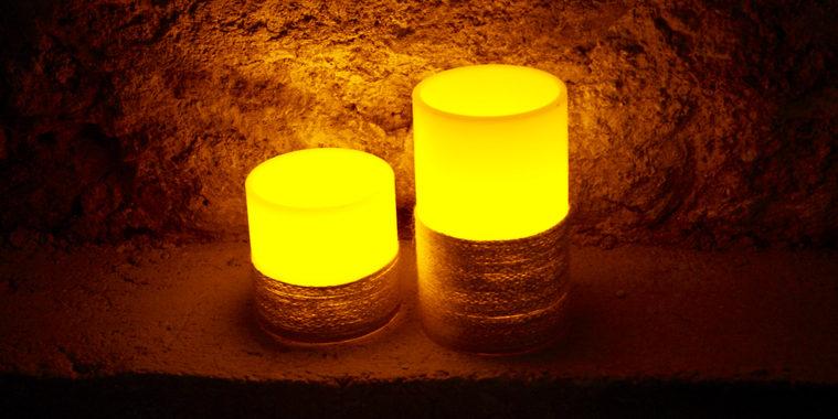 LED Echtwachskerzen