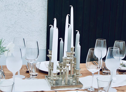 Kerzenhalter Silber