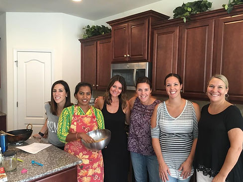 Private cooking classes in Charlotte NC