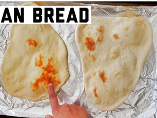 Homemade Naan bread recipe |How to make Naan bread in conventional oven