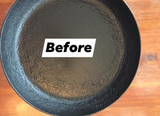 How to restore and reseason a cast iron skillet