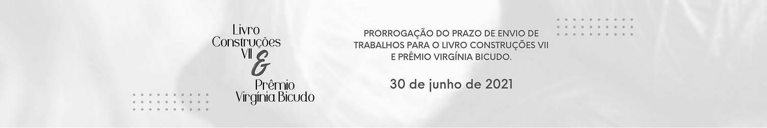 PRORROGAÇÃO DO PRAZO DE ENVIO DE TRABALH