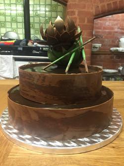 2-Tier Chocolate