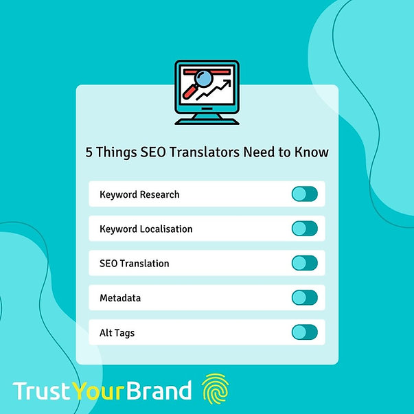 The 5 skills of an SEO translator