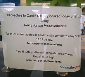 National Express Translation Mistake