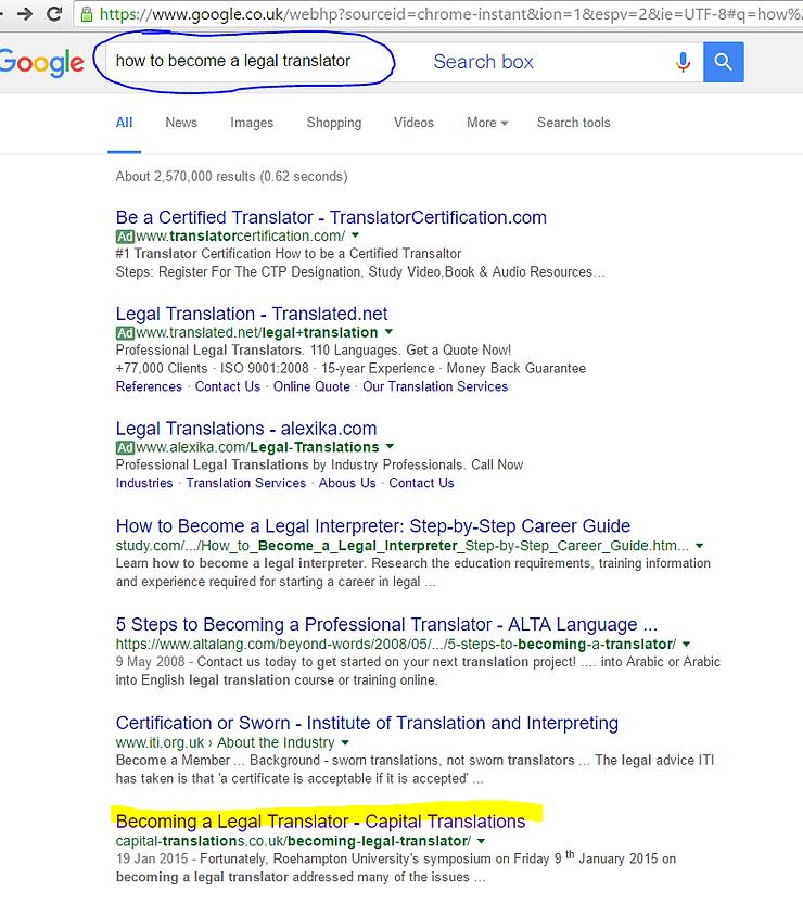 Google and Header Tags