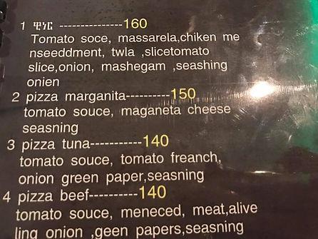 Restaurant Translation Mistake