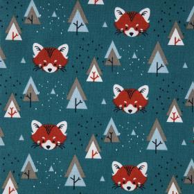 Beschichtete Baumwolle - Fuchs
