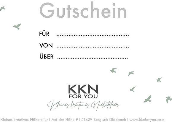 Gutschein - 10 €