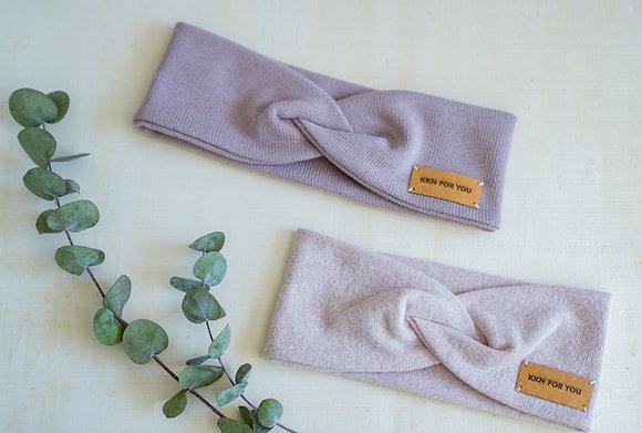 Stirnband aus Strick für Mädchen/Baby's mit Twist