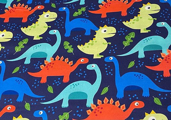 Baumwolle - Dinos