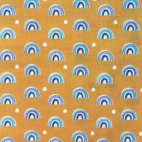 Beschichtete Baumwolle - Regenbogen