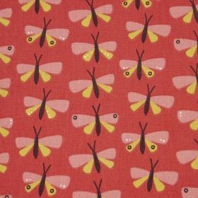 Beschichtete Baumwolle - Schmetterlinge