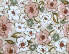 Baumwolle - Blumen