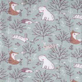 Baumwolle - Waldtiere