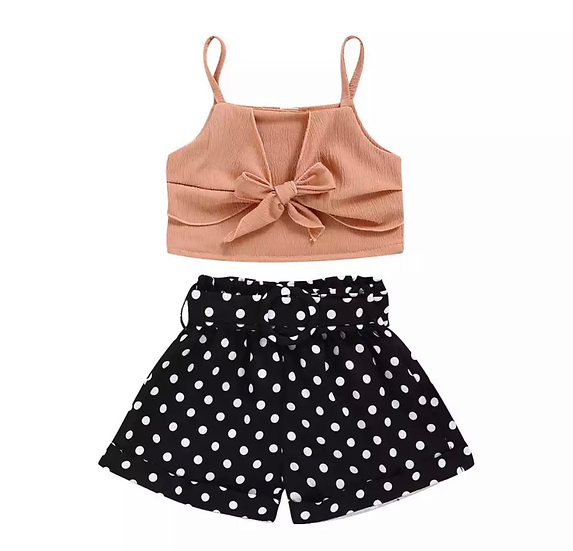 Polka dots 2pc set