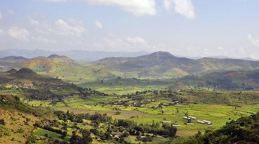 Landschap Togo