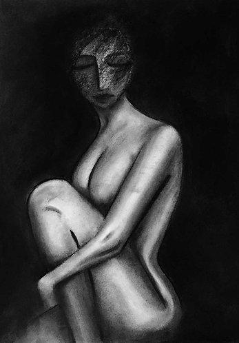 Nude-1- Wall Art Print