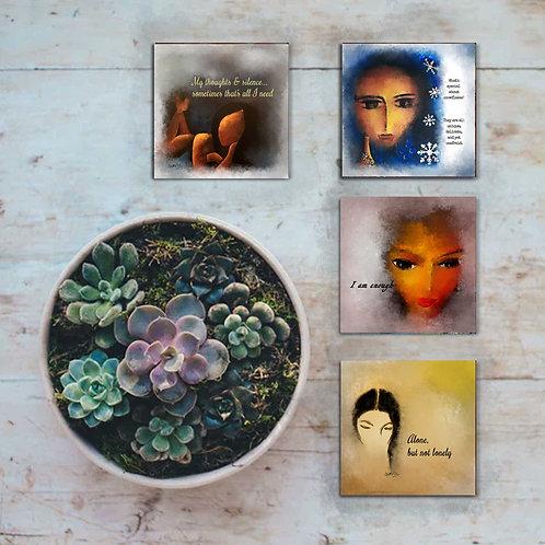 Original Art Coasters (set of 4)