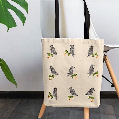 Elegant Birds Tote bag