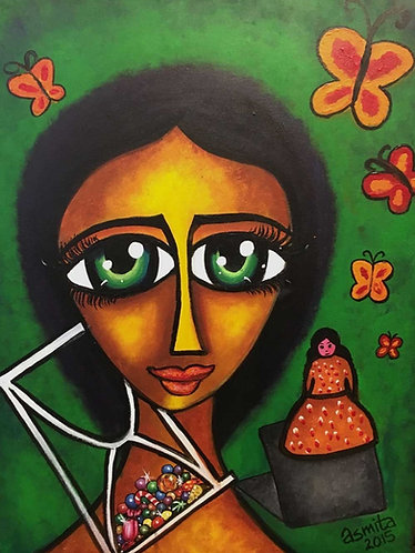 Reclaiming Childhood (Girl)- Wall Art Print
