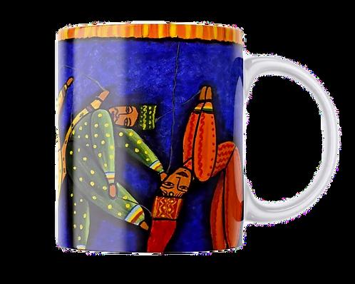 Colourful Puppets Mug