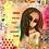 Thumbnail: Designer Collage Fleece blanket (50x60in)