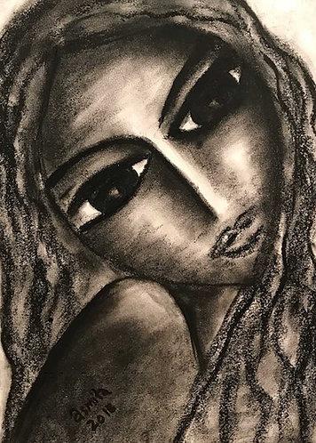 Looking at me- Wall Art Print