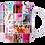 Thumbnail: Pink Collage Mug