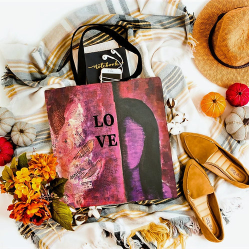 Designer Love Tote bag