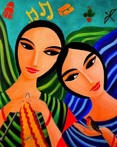 Sister Love- Wall Art Print