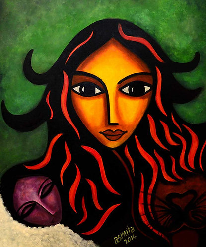 The Goddess- Wall Art Print